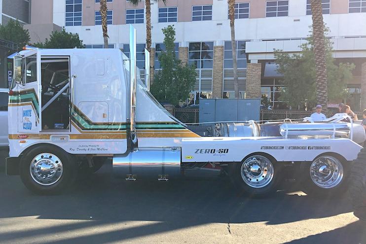 007 Sema Trucks One White Cloud