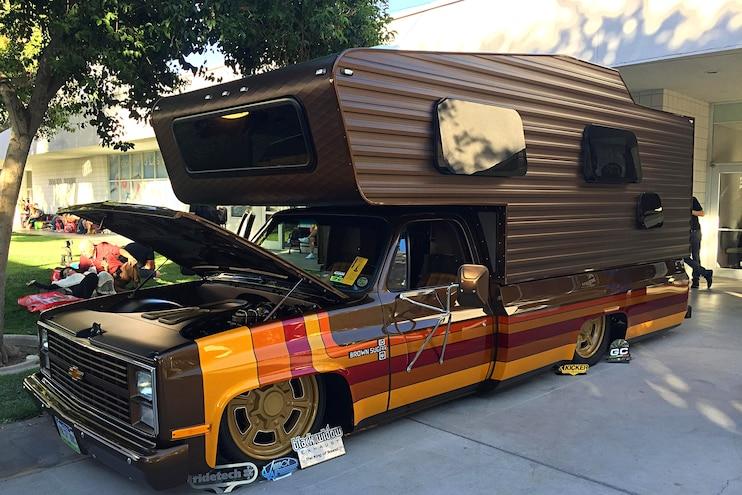 017 Sema Trucks Three Camper