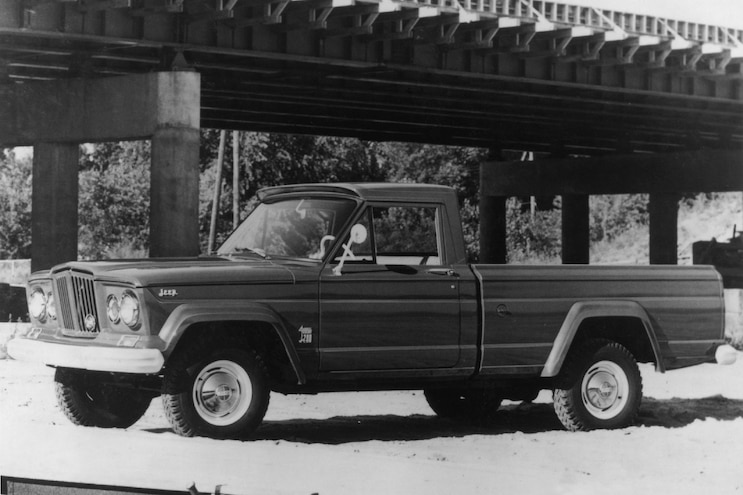 1963 Jeep Gladiator F3q Bw