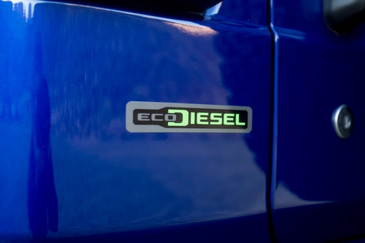 2020 Jeep Wrangler Ecodiesel First Drive Badge