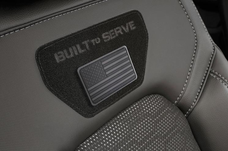 2020 Ram 1500 Built To Serve Interior Front Seat Velcro Panel 02