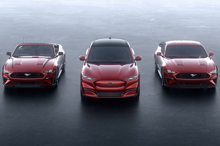 2021 Ford Mustang Mach E Family Photo