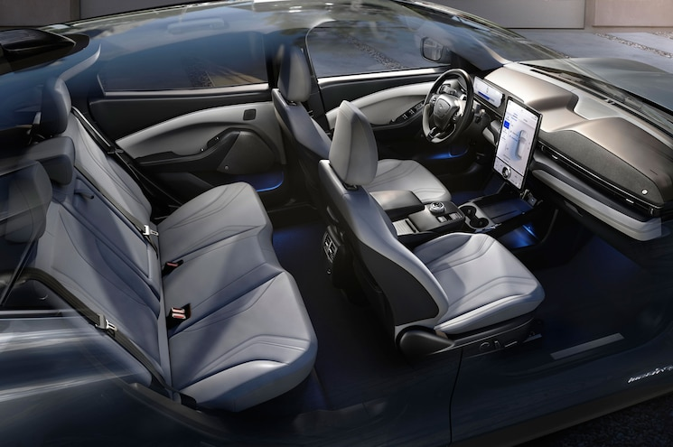 2021 Ford Mustang Mach E Interior
