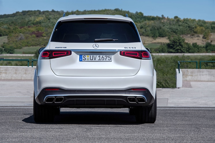 2021 Mercedes Amg Gls 63 Exterior Rear View