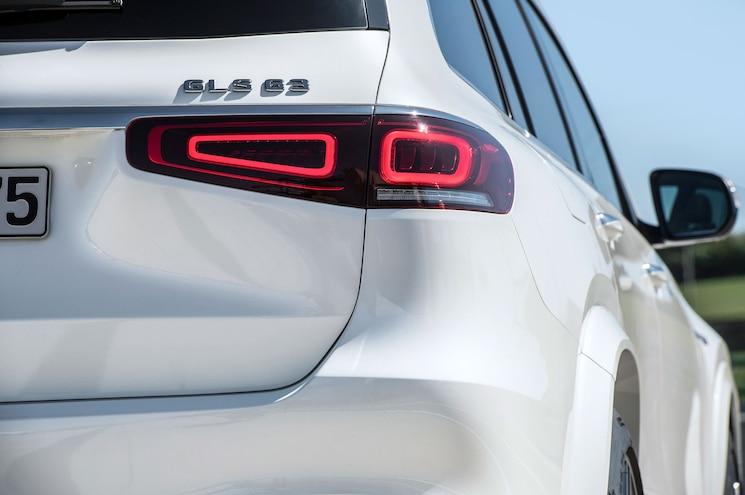 2021 Mercedes Amg Gls 63 Exterior Taillights