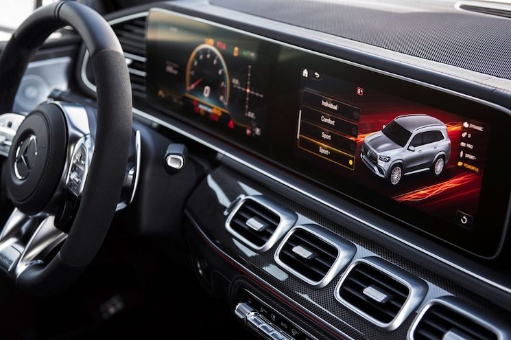2021 Mercedes Amg Gls 63 Interior Dash Displays