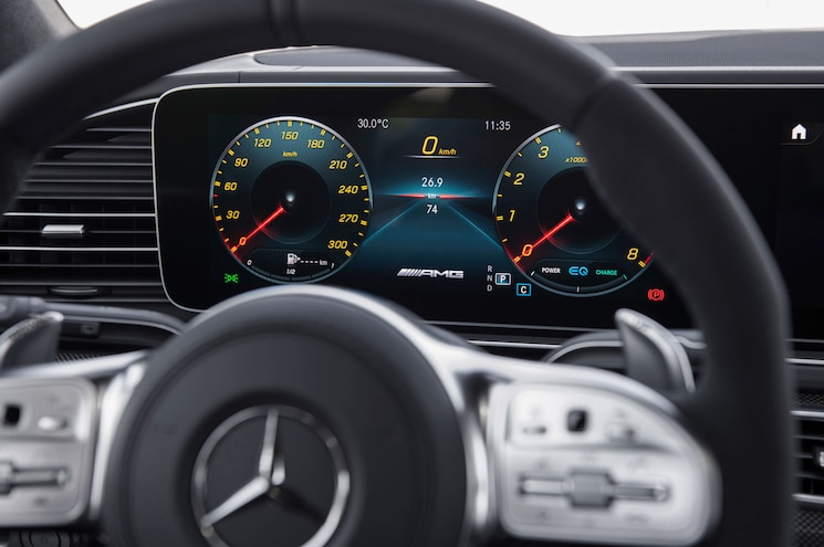 2021 Mercedes Amg Gls 63 Interior Gauge Display