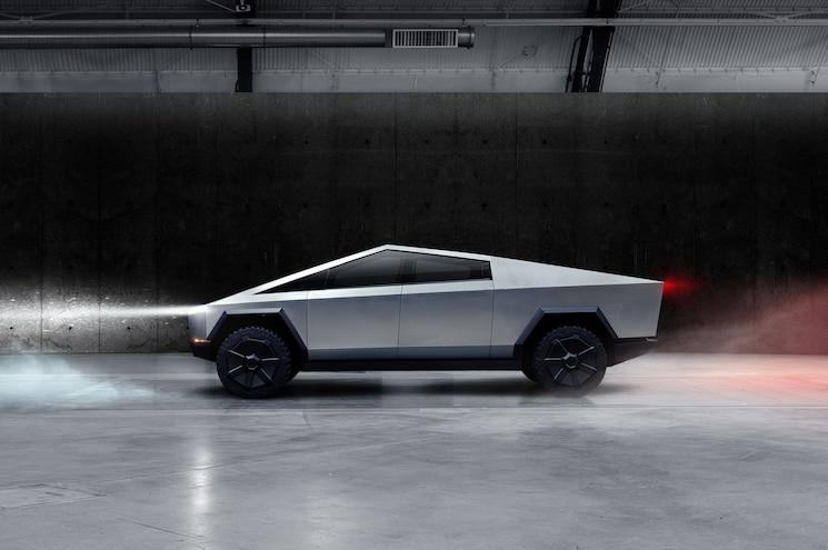 2022 Tesla Cybertruck Concept Side Profile