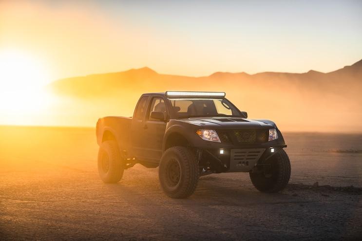 Nissan Reimagines Frontier Desert Runner into a V-8 Prerunner