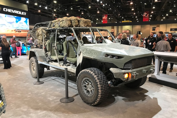 Chevrolet Colorado Zr2 Based Infantry Squad Vehicle