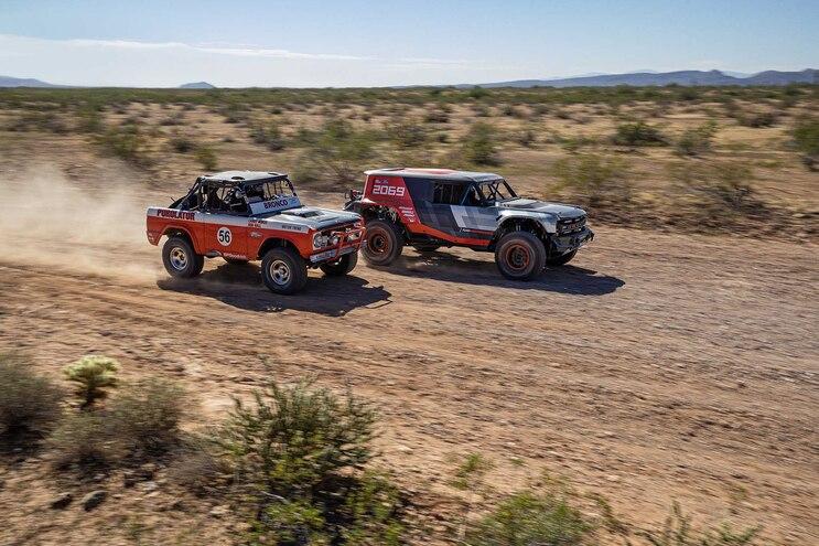 Ford Bronco R Prototype Baja 1000 Race Truck Revealed at 2019 SEMA
