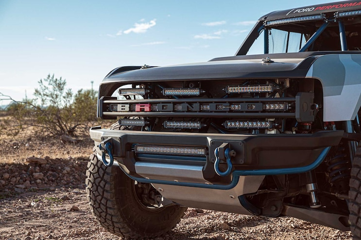 Ford Bronco R Front Grille