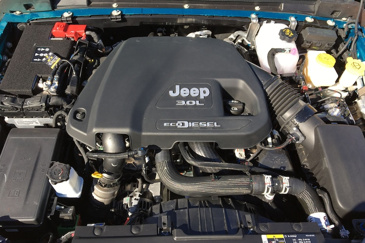 Jeep 2020 Wrangler Ecodiesel Drive Engine