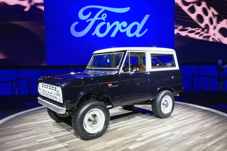 Jay Leno's Supercharged 1968 Ford Bronco Takes a Bow #MTSEMA19