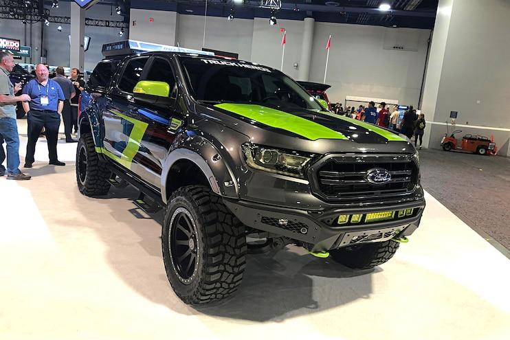 Top 20 Ford Ranger Pickups At The 2019 Sema Show