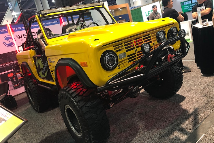 Top Ten Ford Broncos Of Sema 2019