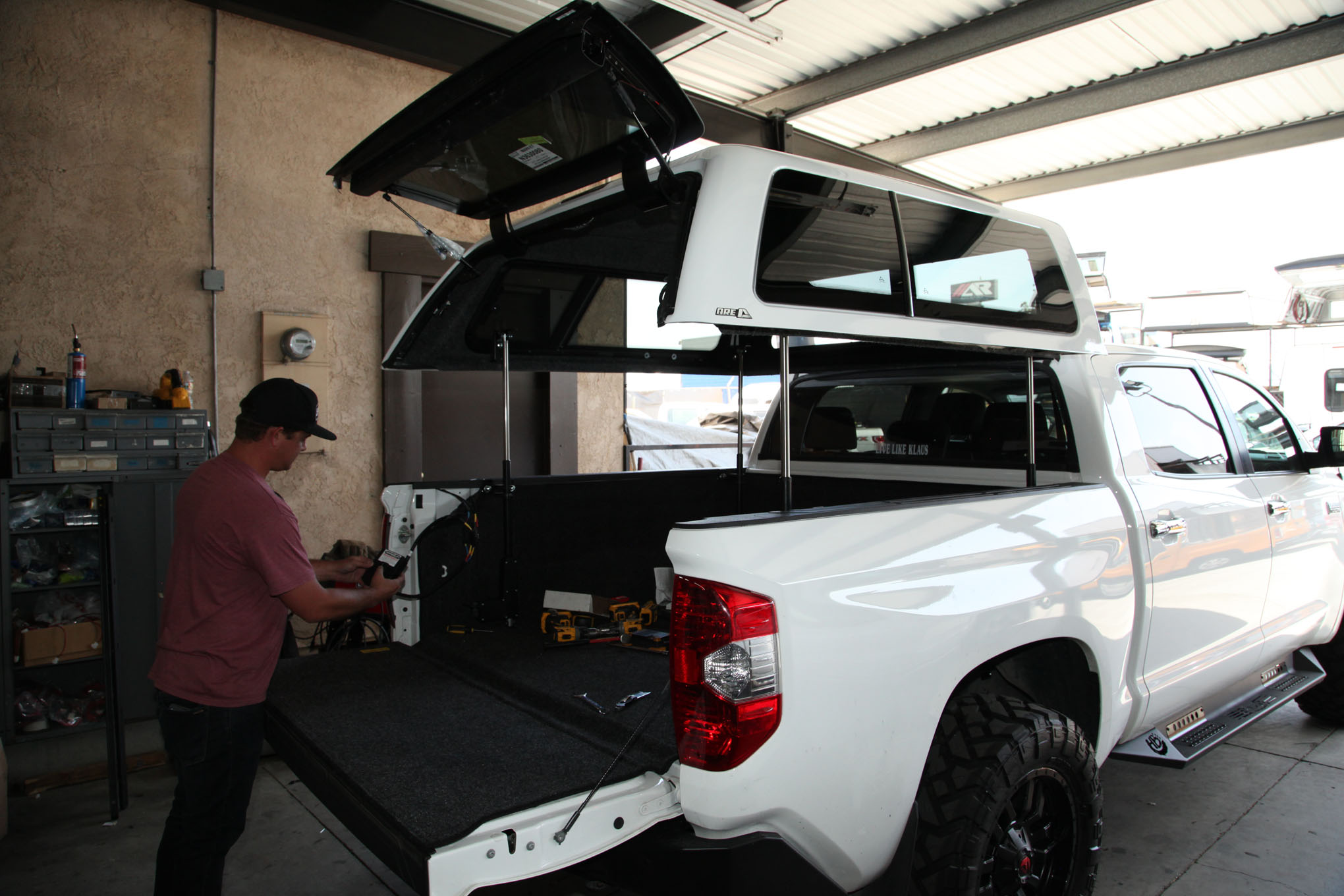 Adding An Are Camper Shell Bed Rug And Topper Ez Lift Bed Tent To Our 2014 Toyota