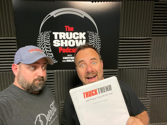 Episode 93 of The Truck Show Podcast: Eleven New Trucks Tested During Truck of the Year