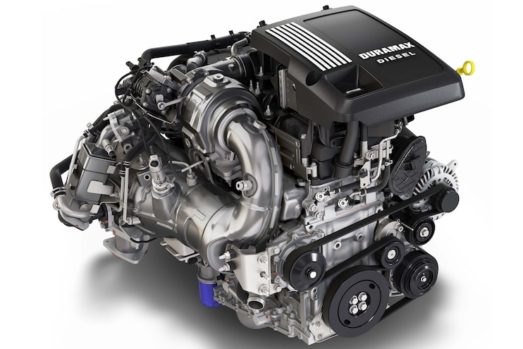 002 3l Duramax Turbo Diesel Engine