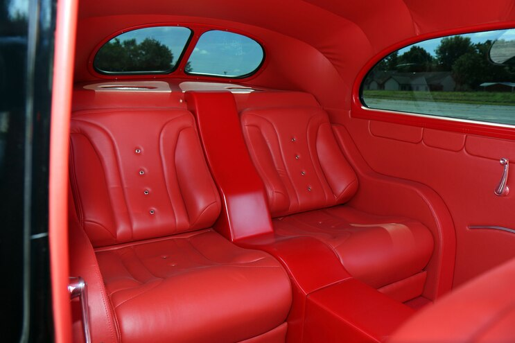 012 1939 Ford Sedan Deluxe Interior