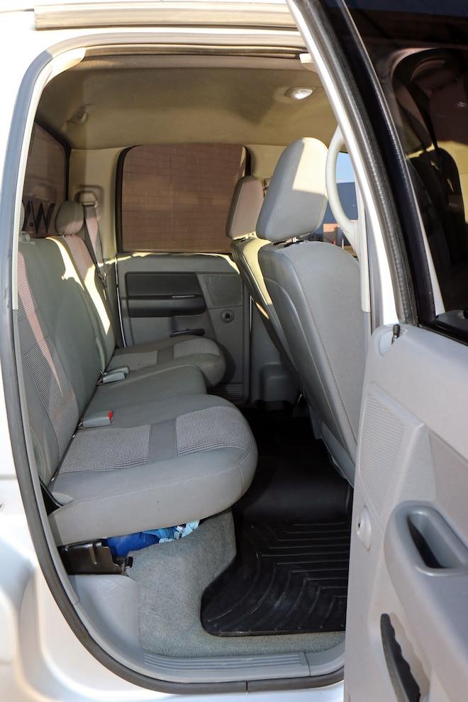 017 850hp 2007.5 Dodge Ram 2500 Interior