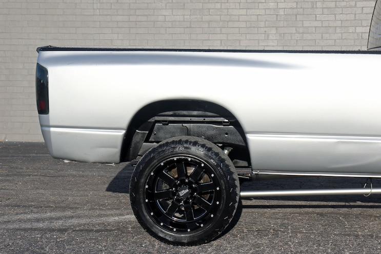 026 850hp 2007.5 Dodge Ram 2500 Rear Wheel