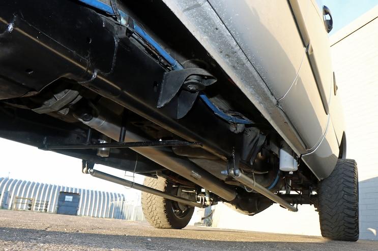028 850hp 2007.5 Dodge Ram 2500 Rear Suspension