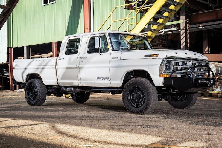 "Heavy Metal Custom Shop Built an Amazing 1972 Ford F-250 ""Ranch Truck"""