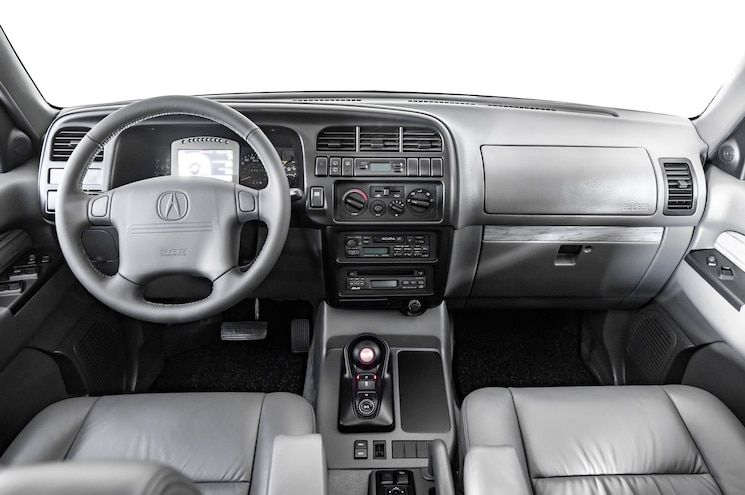 1997 Acura Super Handling Slx Interior Dashboard
