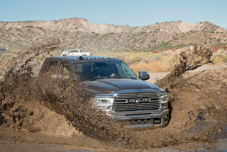 2019 Ram 3500 Heavy Duty Laramie Ptoty Mud