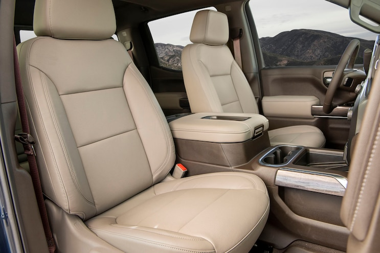 2020 Chevrolet Silverado 1500 Ltz Duramax Ptoty Interior Seats