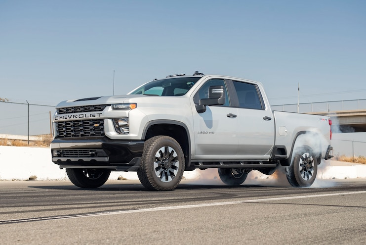 2020 Chevrolet Silverado 2500hd Custom Ptoty Burnout