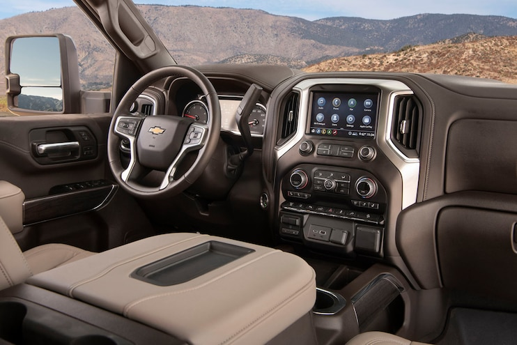 2020 Chevrolet Silverado 2500hd Custom Ptoty Interior