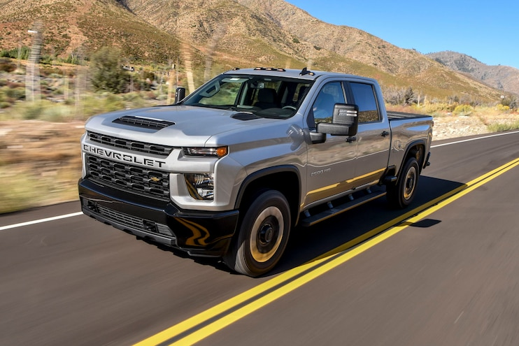 2020 Chevrolet Silverado 2500HD Custom: 2020 Pickup Truck of the Year Contender