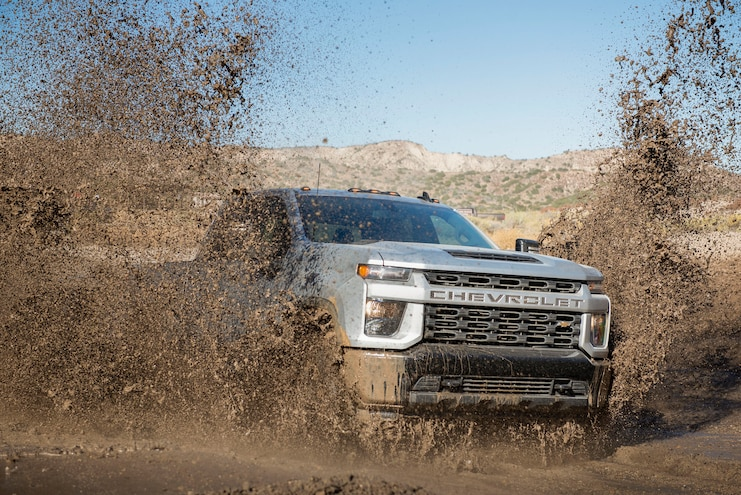 2020 Chevrolet Silverado 2500hd Custom Ptoty Mud