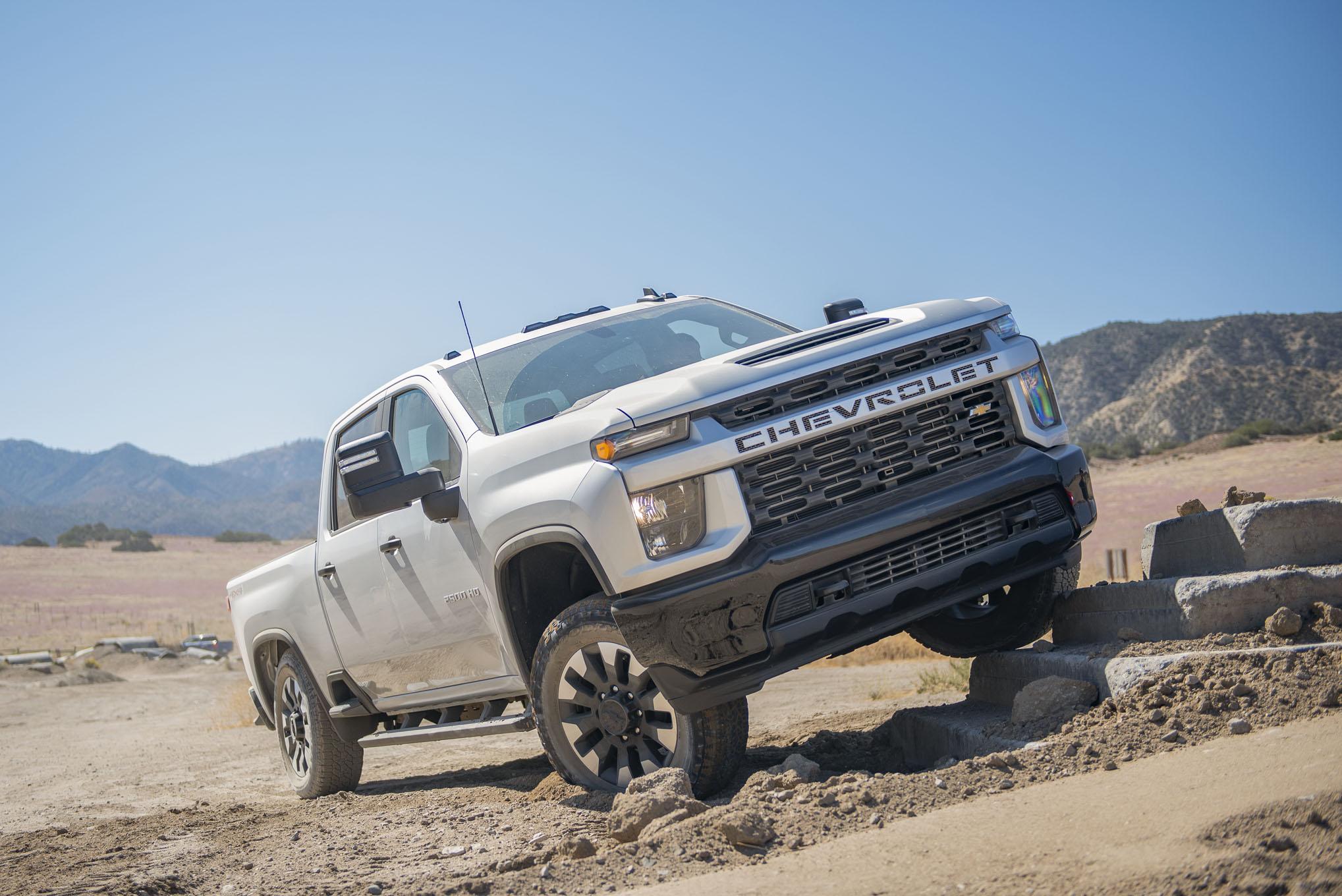 2020 Chevrolet Silverado 2500HD Custom: 2020 Pickup Truck ...