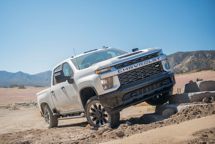 2020 Chevrolet Silverado 2500hd Custom Ptoty Off Road