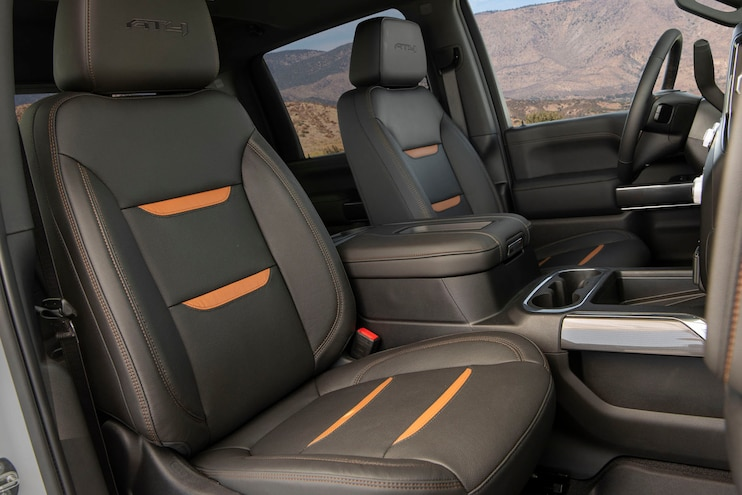2020 Gmc Sierra 2500 At4 Duramax Interior Seats
