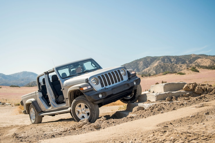 2020 Jeep Gladiator Sport S Ptoty Off Road