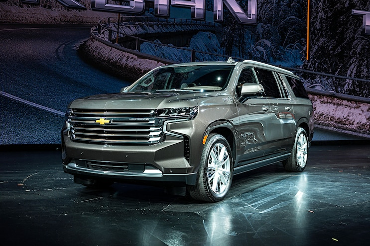 2021 Chevrolet Tahoe and Suburban Get New IRS Suspension, Duramax Diesel Engine, and Advanced Technology