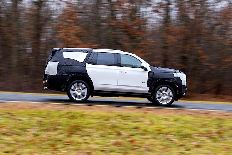 2021 Chevrolet Tahoe First Ride