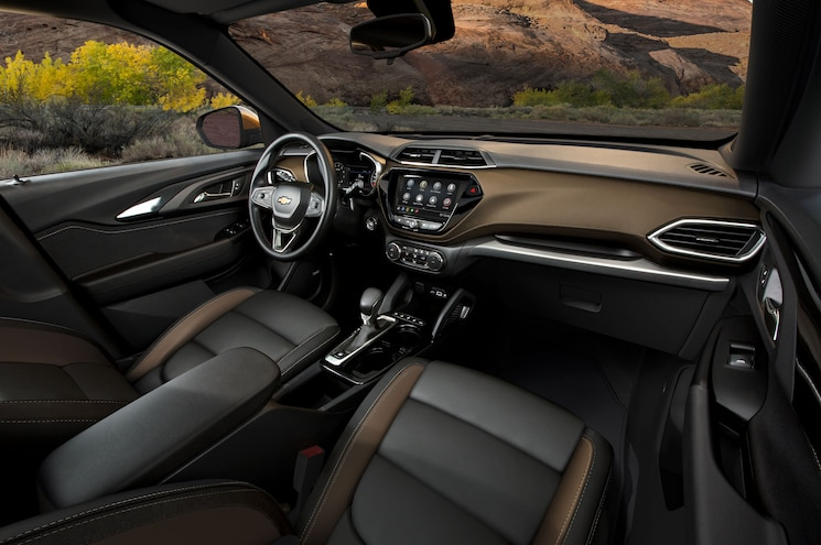 2021 Chevrolet Trailblazer Activ Exterior Front Cabin