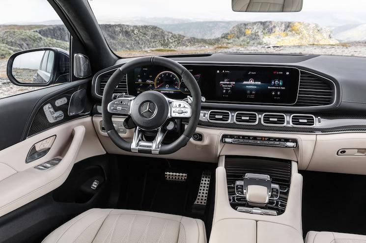 2021 Mercedes Amg Gle 63 S Exterior Cockpit