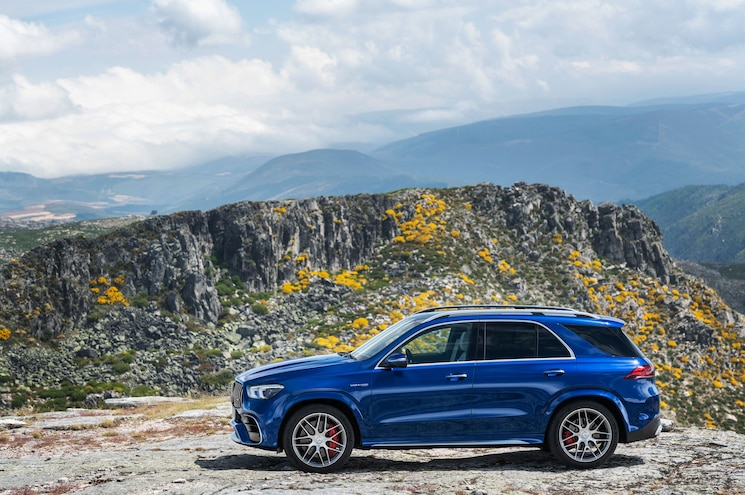 2021 Mercedes Amg Gle 63 S Exterior Side Profile 01