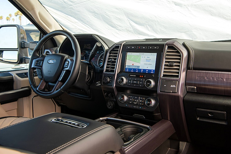 Ford F 250 Super Duty Wins Truck Trends 2020 PTOTY Interior