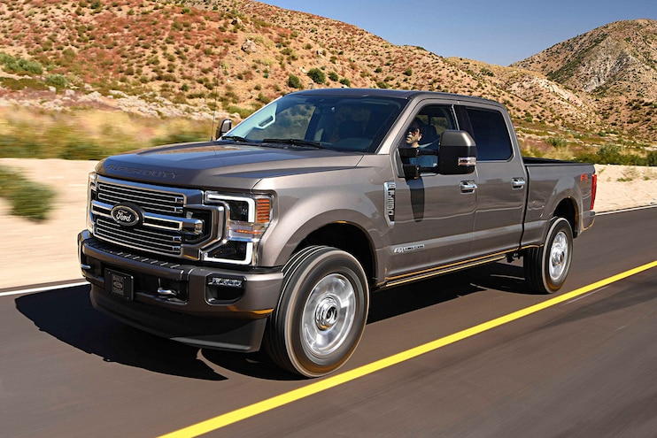 Ford F-250 Super Duty Wins Truck Trend's 2020 Pickup Truck of the Year Award