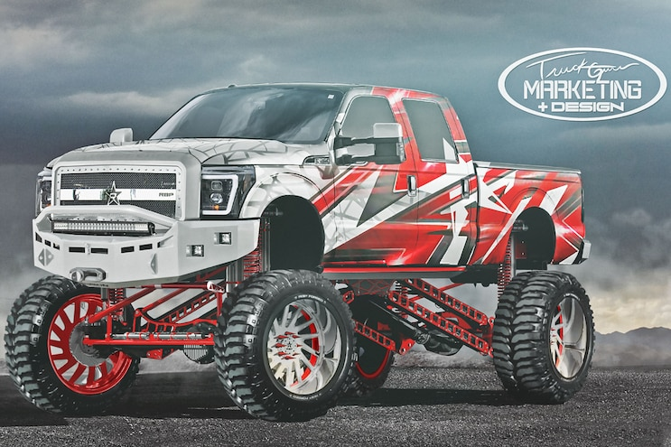 Radical Renderings Truck Guru F250