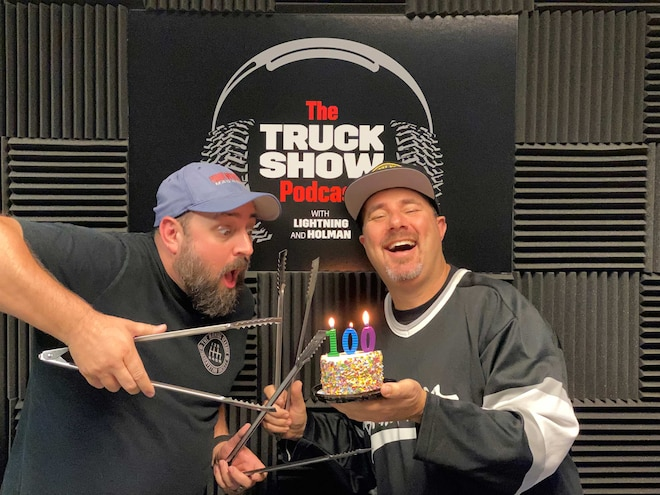 Episode 100 of The Truck Show Podcast: Our First Guest Returns