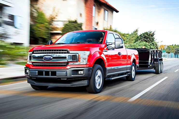 10 New Trucks That Tow 10,000 Pounds or More
