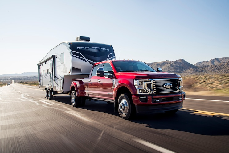 003 2020 Ford Super Duty Best In Class Fifth Wheel Towing